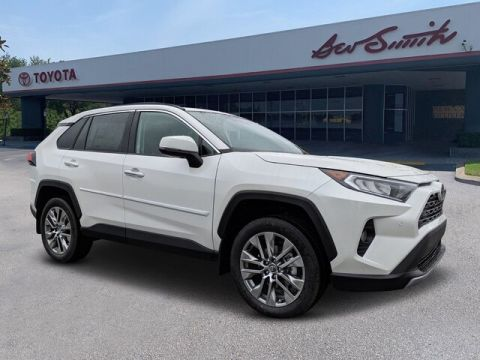 New 2020 Toyota RAV4 Limited AWD SUV