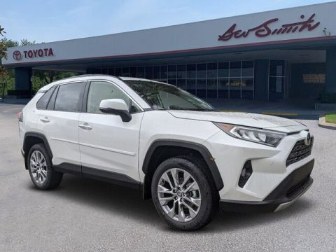 New 2020 Toyota RAV4 Limited FWD SUV