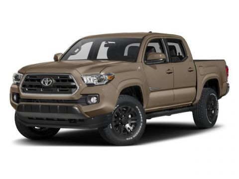 Pre-Owned 2017 Toyota Tacoma SR5 RWD Crew Cab Pickup