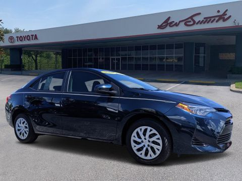 Pre-Owned 2018 Toyota Corolla LE FWD 4dr Car